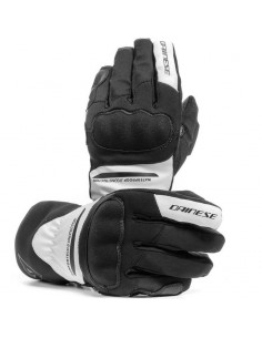 Guantes Dainese Aurora Lady D-Dry | Negro y blanco