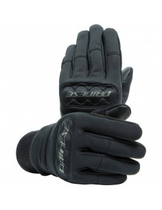 Guantes Dainese Coimbra Unisex Windstopper | Negro
