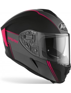Casco Airoh Spark Flow Mujer | Mate-Rosa