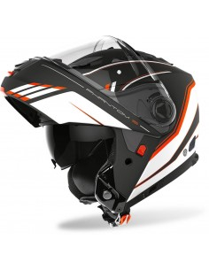 Casco Airoh Phantom S Beat | Mate-Naranja