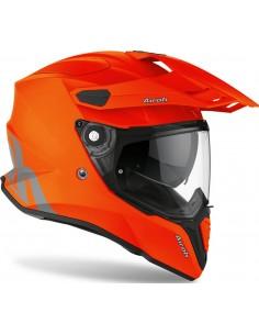 Casco Airoh Commander Color   Mate-Naranja