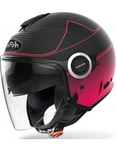 Casco Airoh Helios Map Mujer | Mate-Rosa