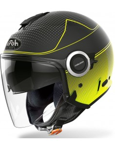 Casco Airoh Helios Map | Mate-Amarillo