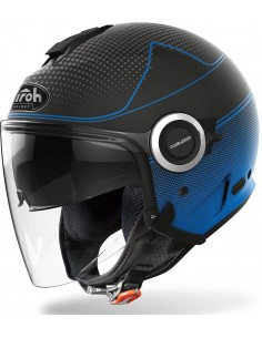Casco Airoh Helios Map | Mate-Azul