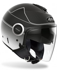 Casco Airoh Helios Map | Mate-Negro