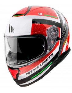 Casco MT Thunder 3 SV Carry C5 | Rojo