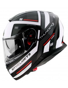 Casco MT Thunder 3 SV Carry E0 | Blanco