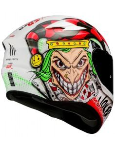 Casco MT Targo Joker A0 | Blanco