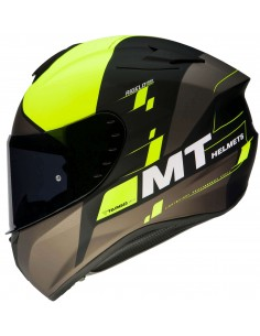 Casco MT Targo Rigel A3 | Mate-Amarillo fluor