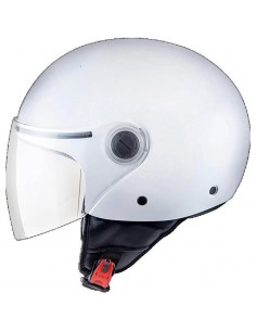 Casco MT Street Solid A0 | Blanco
