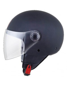 Casco MT Street Solid A1 | Mate-Negro