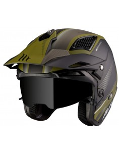 Casco MT District SV Post B6 | Mate-Verde