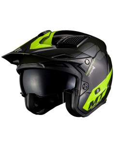 Casco MT District SV Summit H3 | Amarillo fluor