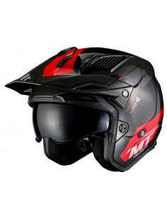 Casco MT District SV Summit H5 | Rojo