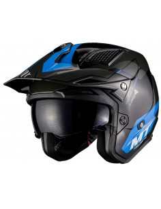 Casco MT District SV Summit H7 | Azul
