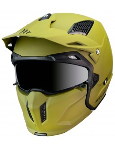 Casco MT Streetfighter SV Solid A6 | Mate-Verde
