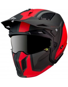 Casco MT Streetfighter SV Twin C4 | Mate-Naranja fluor
