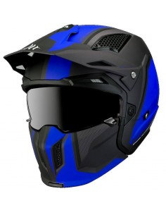 Casco MT Streetfighter SV Twin C7 | Mate-Azul