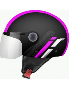 Casco MT Street Scope D8 | Rosa Fluor