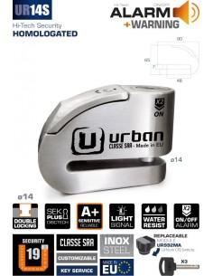 Antirrobo Disco con Alarma Urban UR14S