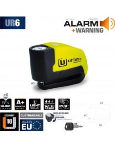 Antirrobo Disco con Alarma Urban UR6