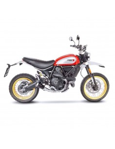 Escape Leovince Lv-10 Ducati Scrambler (17-20) | Negro mate