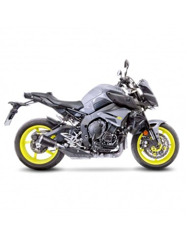 Escape Leovince Lv-10 Black Edition Yamaha MT-10 / FZ-10 / MTN1000 (16 - 20) | 15203B