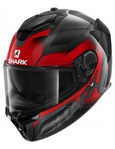 Casco Shark Spartan GT Carbon Shestter | Carbono-rojo-antracita | HE7005DRA