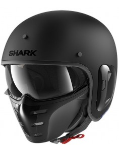 Casco Shark S-Drak 2 Blank Mate | Mate-Negro | HE2761KMA