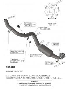 Colectores Leovince Honda X-ADV (2017 - 2020)