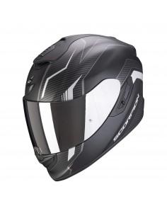 Casco Scorpion Exo-1400 Air Fortuna | Mate- Negro y plata