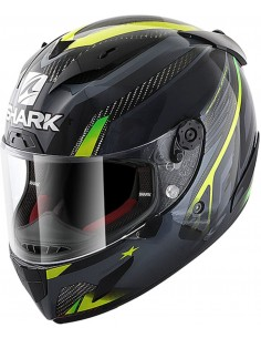 Casco Shark Race-R Pro Carbon Aspy | Carbono-antracita-amarillo DAY