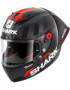 Casco Shark Race-R Pro GP Lorenzo Winter Test 99 | Carbono-antracita-rojo DAR