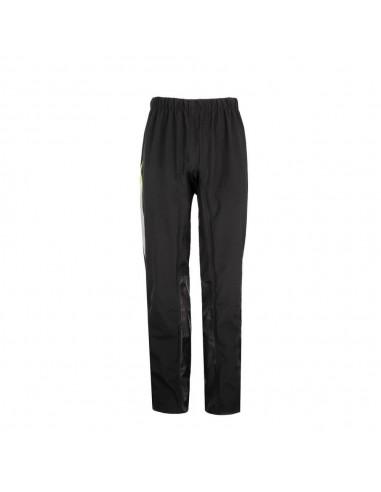 Pantalones Impermeables Tucano Urbano Diluvio Pro | Negro y amarillo fluor