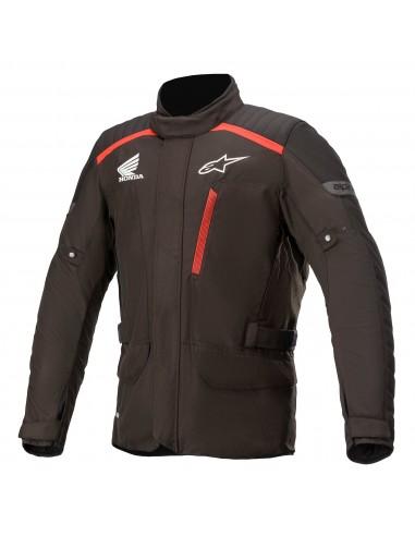 Chaqueta Alpinestars Honda Gravity Drystar | Negro y rojo