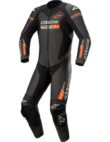 Mono Profesional Alpinestars GP Force Chaser | Negro y rojo fluor