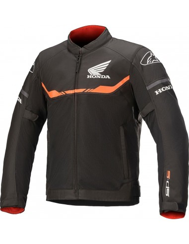 Chaqueta Alpinestars Honda T-SPS Air | Negro y rojo