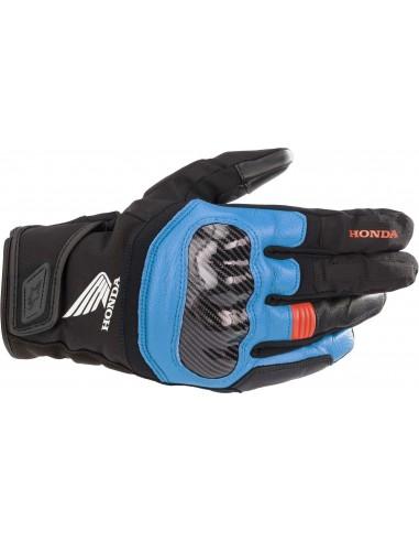 Guantes Alpinestars Honda SMX Z Drystar   Negro-azul-rojo