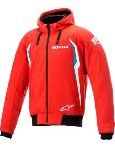 Chaqueta Alpinestars Honda Chrome V2 Sport | Rojo y azul