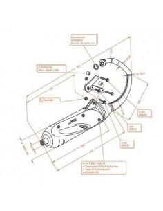 Escape Sitoplus Honda X8R-S y X8R-X 50