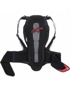 Protector Espalda Alpinestars Nucleon KR-2 Negro / Rojo