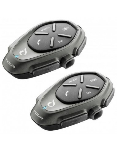 Intercomunicador Interphone Tour Twin Pack