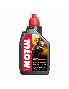 Aceite Motul Scooter Power 4t 5w40 Ma 1l