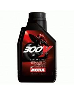 Aceite Motul 300v 15w50 Moto Fl 12x1l
