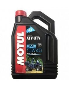 Aceite Motul Quad Atv-Utv 4t 10w40 4L