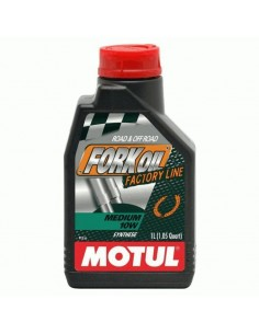 Aceite Motul Fork Oil Factory Line Medium 10w 1l
