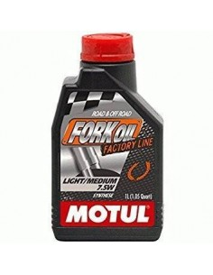 Aceite Motul Fork Oil Factory Line Med/Light 7.5w 1l