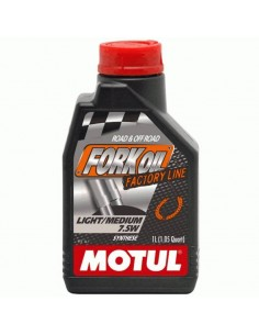 Aceite Motul Fork Oil Factory Light 5w 1l
